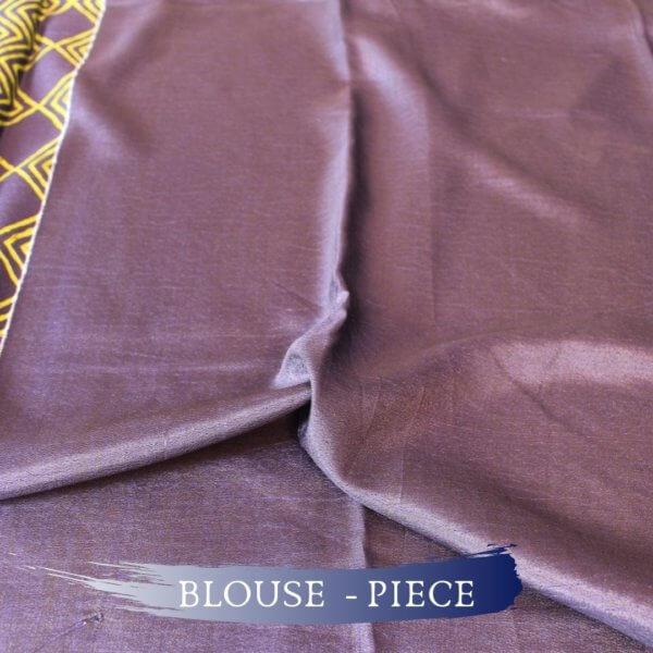 Handloom Tussar Silk Saree in Aquamarine Colour f
