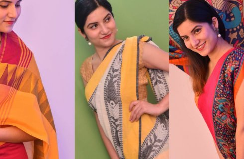 Wear DIGILOOM Handloom Sarees to look Good Feel Good..