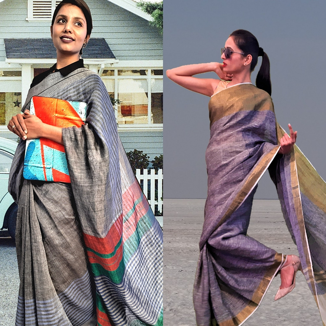 best handloom formal corporate sarees for office 2020