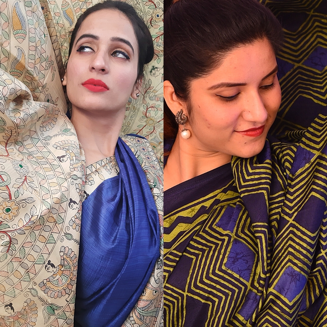 best party and casual handloom sarees 2020