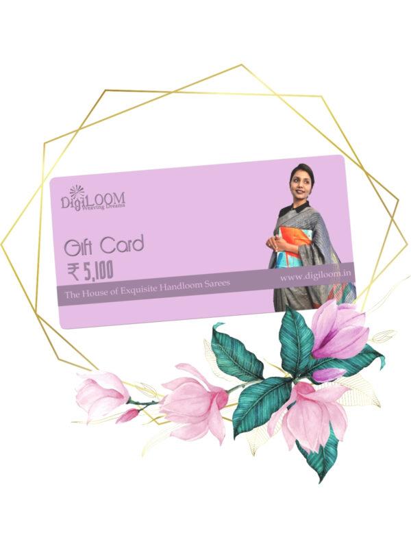 handloom saree gift card